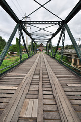 The old iron bridge