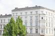Altbau in Deutschland, Haus und Baum in Berlin