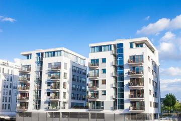 moderne Häuser in Deutschland -Wohnungen