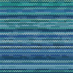 Melange knitted seamless pattern