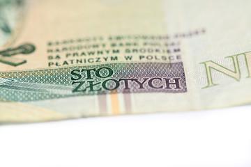 Polish banknote