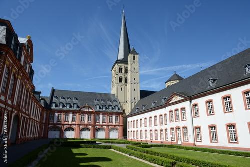 Leinwanddruck Bild Abtei Brauweiler
