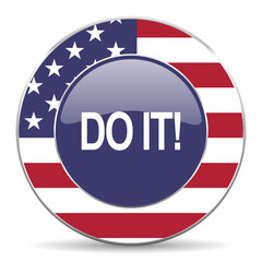 do it american icon