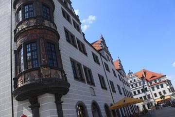 Torgauer Markt mit Rathaus