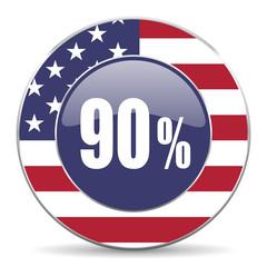 90 percent american icon