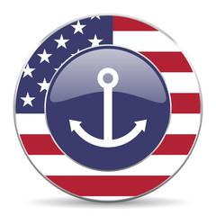 anchor american icon