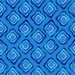 Abstract seamless pattern of rhombus
