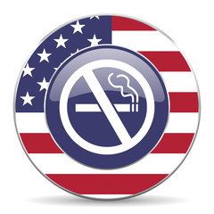 no smoking american icon