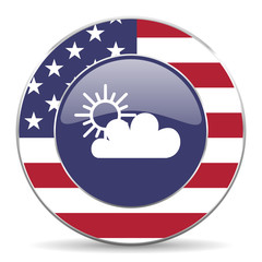 cloud american icon