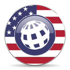 earth american icon