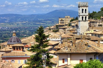 medieval towns of Italy - Assisi, Umbria