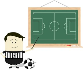 teaching soccer referee