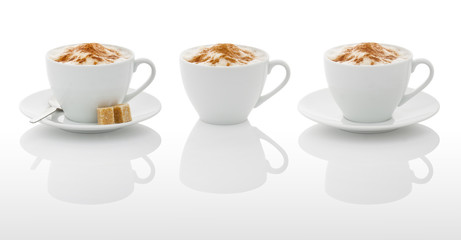White coffee cups (with PS paths)