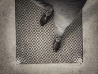 Attente sur le quai