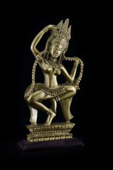 Apsara sculpture