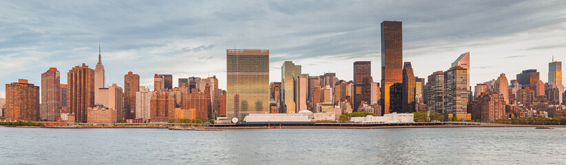 Panorama of Manhattan, New York City