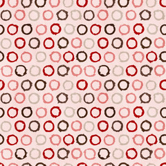Vector funky retro seamless pattern