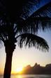 Sunset Rio de Janeiro Ipanema Beach Two Brothers Mountain Brazil