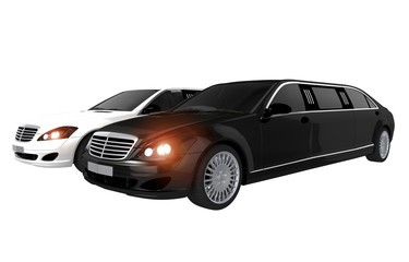 Limousines Rental Concept