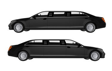 Two Side View Limos