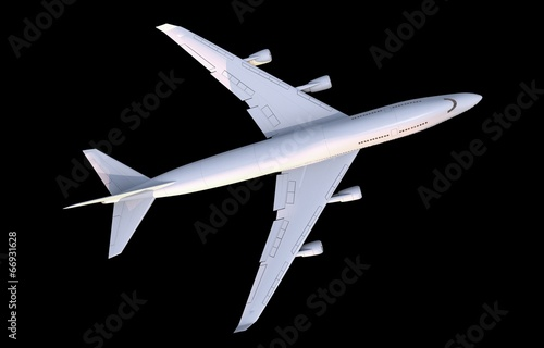 canvas print picture Commercial Airplane