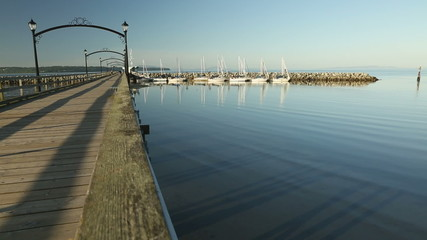 White Rock Pier and Marina