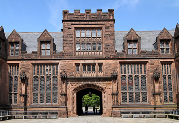 Gothic style college building