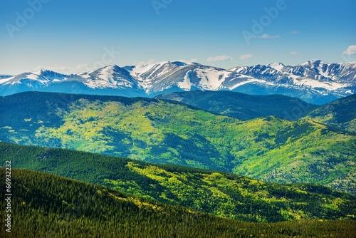 Scenic Colorado Mountains
