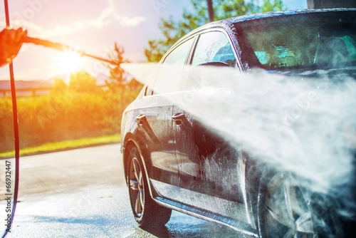 Summer Car Washing - 66932447