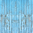 Old blue wood plank background.