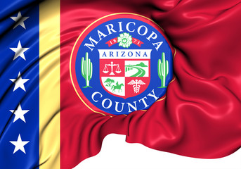 Flag of Maricopa County, USA.