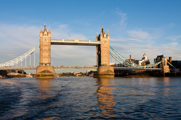Tower Bridge in a Sunny Day, London - England