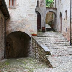 Glimpse of Visso, beautiful village in the Province of Macerata
