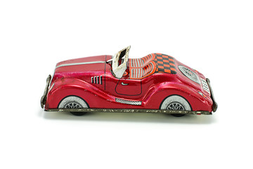 Car tin toy