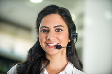 Customer Service worker, call center