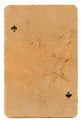 ancient grunge playing card paper background