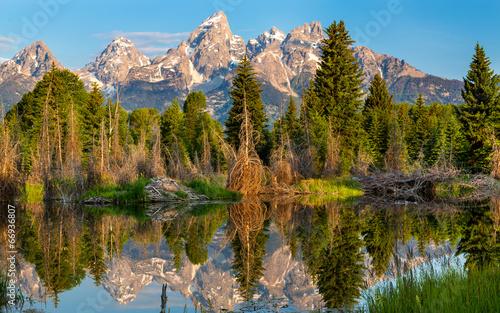 canvas print picture Grand Teton National Park
