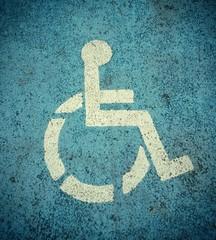 Handicapé signalétique