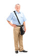 Full length portrait of a mature mailman