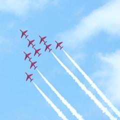 RAF air show in Tallinn, Estonia - JULY 23
