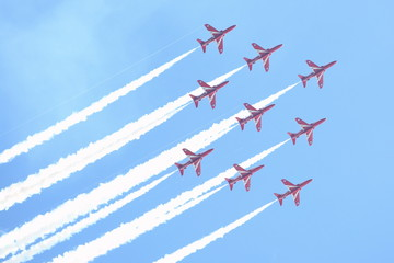 RAF air show in Tallinn, Estonia - JULY 23