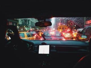 traffic jam in new york
