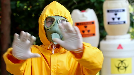 Danger of radioactivity