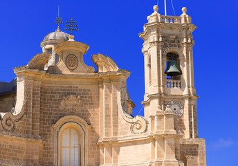 facade of church at Malta