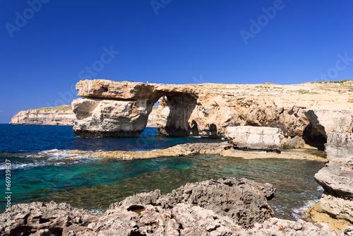 Azure Window formation on Gozo Island Malta - 66939837