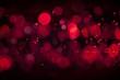 Leinwandbild Motiv Bokeh,Blood,Water,Abstract,Buble,Lighting,Spychadèlique,Red,