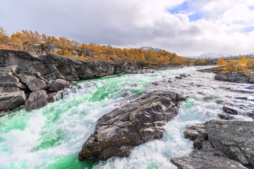 view on river in Norway