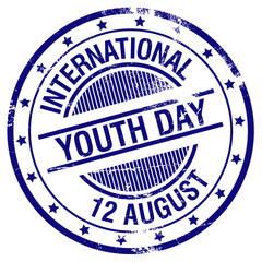 international youth day stamp