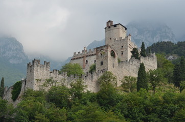 Castle of Avio, Sabbionara Castle, Trento county, Italy
