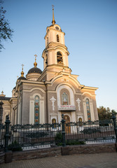 Cathedral of the Savior's Transfiguration in Donetsk, Ukraine